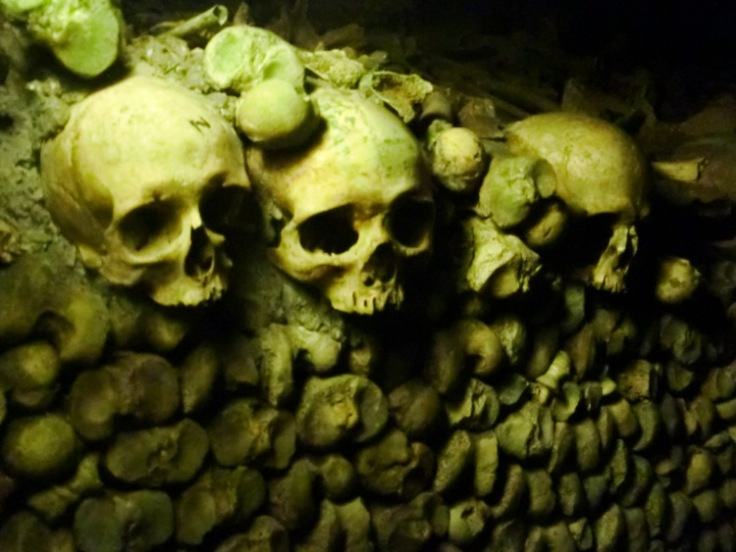 The Catacombes, Paris, France
